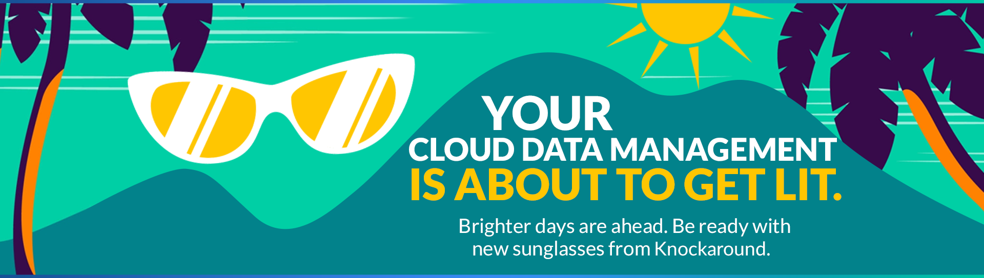 SEE CLOUD DATA MANAGEMENT WITH NEW EYES.